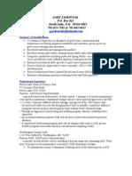 Jobswire.com Resume of gjaskoviak