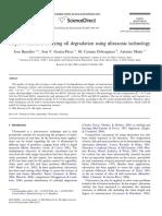 Rapid Evaluation of Frying Oil Degradation Using Ultrasonic Technology