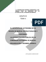 90718-Tema 4. Estatuto de Autonomía (1) 2007
