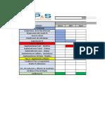 Cronograma de Actividades 5S