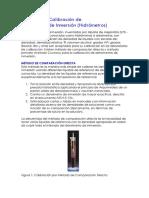 METODOS DE CALIBRACION DE DENSIMETROS