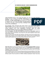 Peninggalan Bersejarah Candi Borobudur