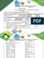 Guía de Actividades y Rúbrica de Evaluación - Paso 5 - Compartir Un Manual de Precosecha y Poscosecha de Una Fruta u Hortaliza Seleccionada