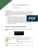 Manual Basico de Programacion en Ensamblador Del 8086