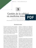 Gestio¦ün de la calidad en medicina intensiva
