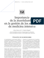 Importancia de la incertidumbre en la gestio¦ün de los SMI