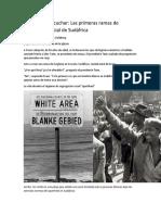Las Primeras Ramas MORMONAS de Integración Racial de Sudáfrica