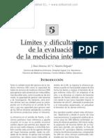 Li¦ümites y dificultades de la evaluacio¦ün de la medicina intensiva