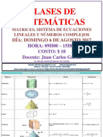 Clases de Matematicas Extras