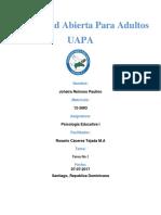 Universidad Abierta Para Adultos (Tarea No I de Psicologia Educativa)