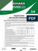 14 Cst Gestao Financeira 2012