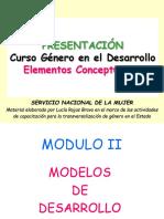 Capacitacion en Genero Modulo II