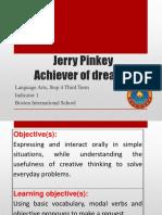 Language Arts - Jerry Pinkey