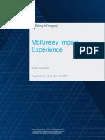 McKinsey Impact Experience Regulamento Geral