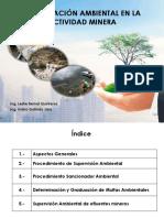 Fiscalización Ambiental en Actividades Minero Metalúrgicas