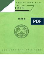 Fsi Modern Written Arabic Volume3 Student Text