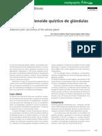 adenoideo quistico salival