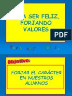 presentación FORJANDO VALORES