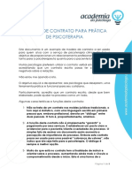 Modelo de Contrato Para Prática de Psicoterapia Rev1