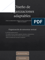 Diseño de Organizaciones Adaptables (2)