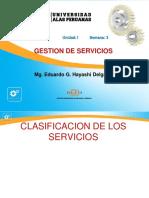 Semana 3 - Clasificación de Los Servicios