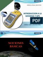 Geodesia y GPS
