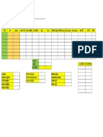 Tabla Poligonal(Planimetrico) Recu 1, Topo 1, Daniel Alvadaro