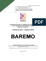 Baremo Pgclinicos 2017 2018