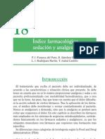 I¦ündice farmacolo¦ügico. Sedacio¦ün y analgesia