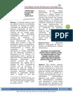 MAPEAMENTO DA PRODUÇÃO CIENTÍFICA VEICULADA EM PERIÓDICOS SOBRE A TEMÁTICA APAE (2000-2015)