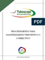 Proc Mantenimiento Preventivo y Correctivo Equipos petroleros