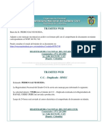TRÁMITES WEB Localidad 18 Cedula