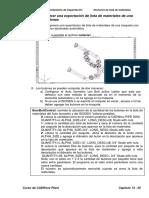 Ejercicio8_Generar Una Exportación de Lista de Materiales de Una Maqueta Con Bulones