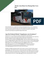 Fungsi Exhaust Brake Atau Rem Gas Buang Dan Cara Kerjanya Pada Bus.docx