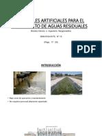 Humedales Artificiales Para El Tratamiento de Aguas Residuales