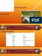 Diapositivas Riego San Jose Sucre-Ayacucho