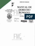 (504-01) Manual de Derecho Romano - Di Pietro y Lapieza Elli