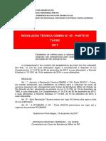 RTCBMRS n.º 05 Parte 05 2017 Taxas1