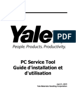 Yale PC Service Tool V4.84 Guide d'Installation Et d'Utilisation