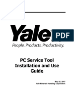 Yale PC Service Tool V4.84 Installation and Use Guide