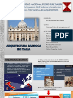 Arquitectura Barroca en Italia