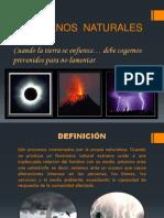 Fenomenos Naturales Ultimo
