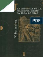 Una Historia de La Filosofía Desde La Idea de Dios - W. Pannenberg