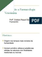 1-Introdução a Farmacologia Veterinária