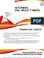 CHARLA N°1 - Diseño de Formas, Propulsión, Hélice y Timon