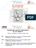 UPS Classification