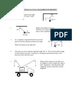Static Equib Worksheet