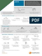 Is PleurX Instrucciones de Drenaje Roller Clamp QG ES (1)