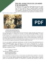 Se Cumplen 200 Años Del Audaz Cruce de Los Andes Del General José de San Martín