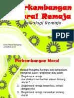 7. Moral Remaja